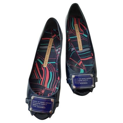 Marc Jacobs Peeptoes pumps - blauw