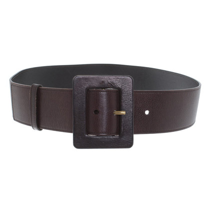 Yves Saint Laurent Belt in brown