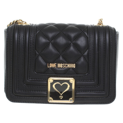 Moschino Love Schoudertas in zwart