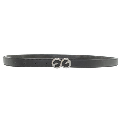 Escada Leather belt in black