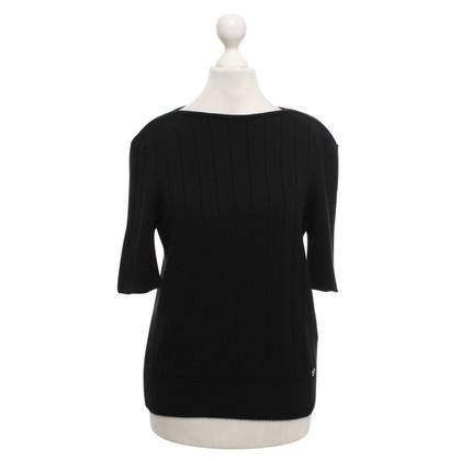 Chanel Knit shirt in black