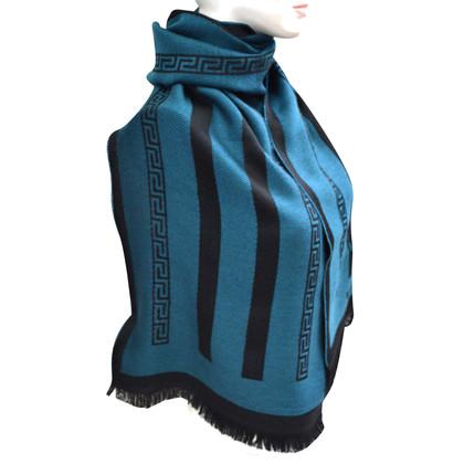 Versace Wollschal mit Muster