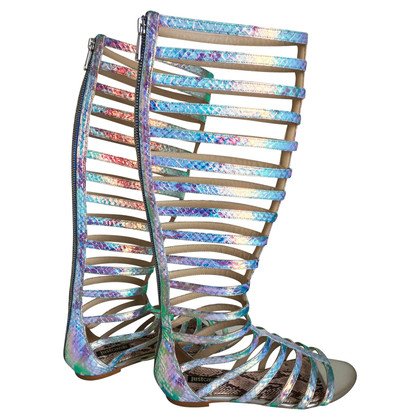 Just Cavalli Stem sandals in gladiatorial style
