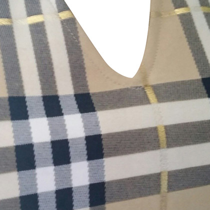 Burberry Top mit Karomuster