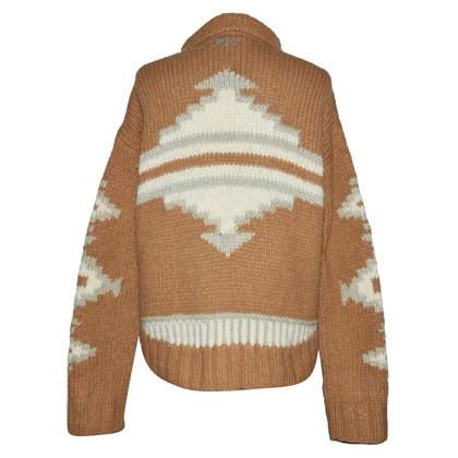 Odd Molly Baby alpaca lana d'agnello pieno Cardigan con zip
