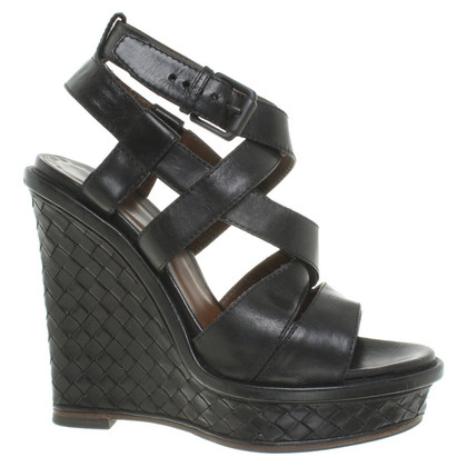 Bottega Veneta Sandaletten mit Keilabsatz