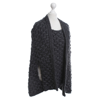 Patrizia Pepe Coarse knit Cape