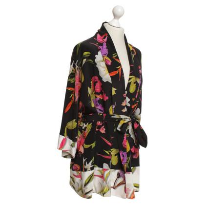 Escada Kimono with a floral pattern