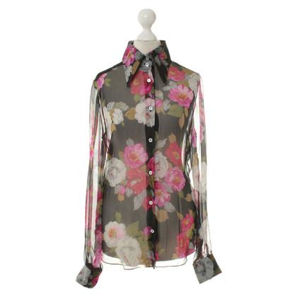 Dolce & Gabbana Blouse met bloemenprint