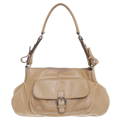 Max Mara Leather handbag in ocher