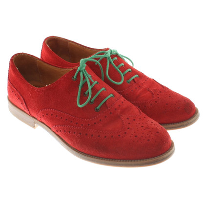 Russell & Bromley Schnürschuhe in Rot