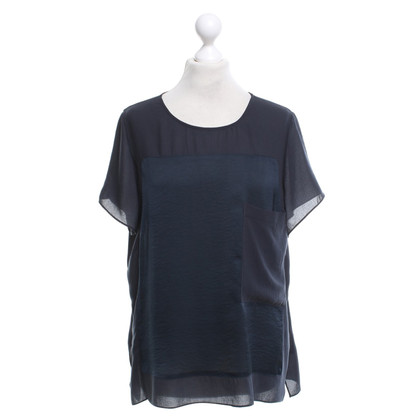 Helmut Lang T-shirt in blu scuro