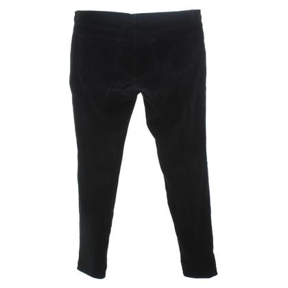 J Brand Pantaloni di velluto in Black