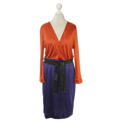 Gucci Kleid in Orange/Violett