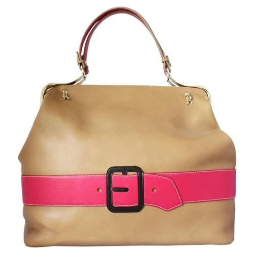 frische Stile online hier heiß-verkauf echt Andere Marke Handtasche aus Leder in Beige - Second Hand ...