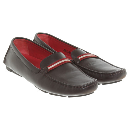 Bally Loafer in Bruin
