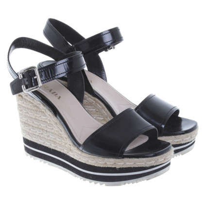 Prada Wedges in black