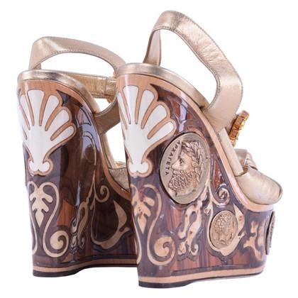 Dolce & Gabbana Sandals in gold