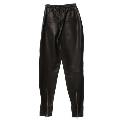 Andere merken Sly - lederen broek in zwart