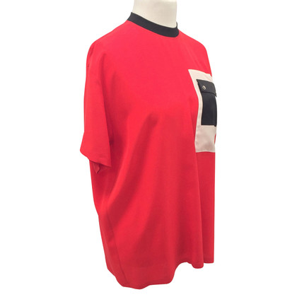 Givenchy T-shirt in seta rossa