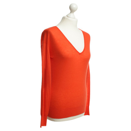 Joseph Cashmere sweater in Orange