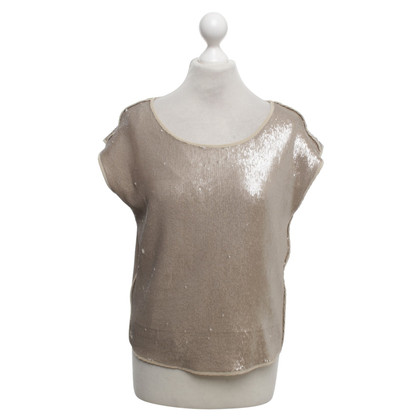 Luisa Cerano top with sequin trim