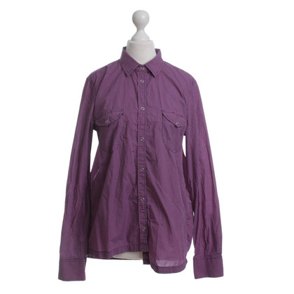 Golden Goose Camicia a quadri in rosa