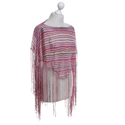 Missoni Small poncho with fringes