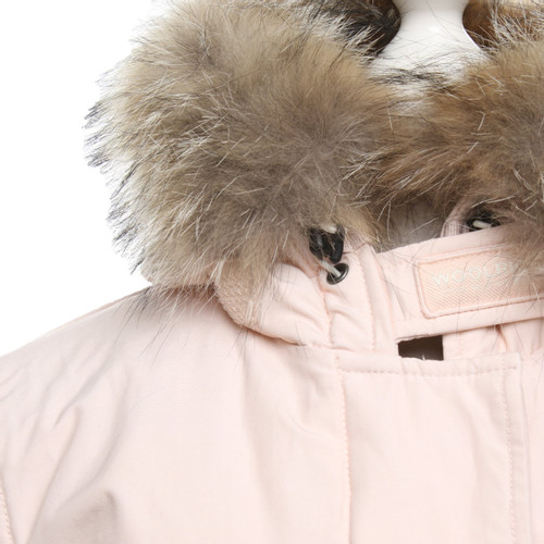 the latest ece6c d2eb9 Woolrich Jacket/Coat in Pink - Second Hand Woolrich Jacket ...