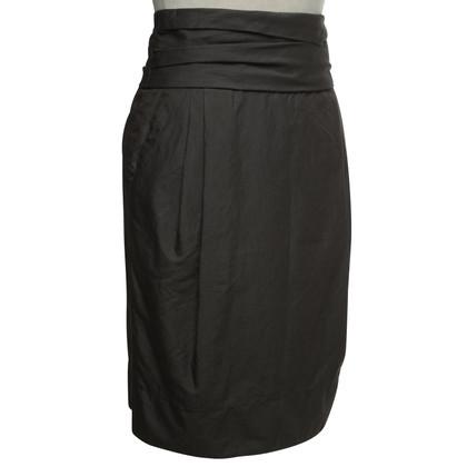 Windsor skirt in dark gray