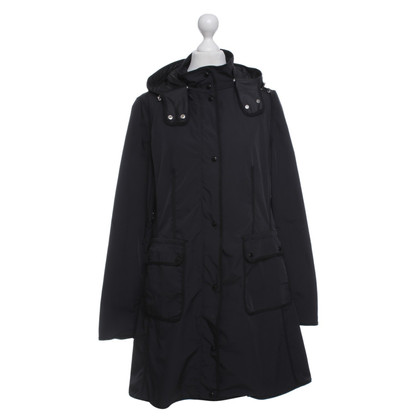 Moncler Lightweight coat in black