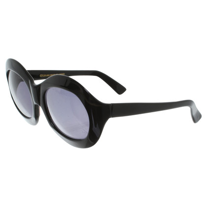 Cutler & Gross Round sunglasses in black
