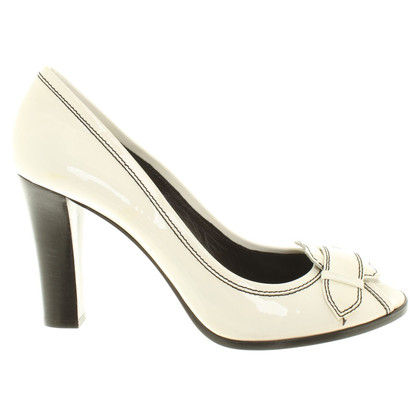 Fendi Peep-toes in white