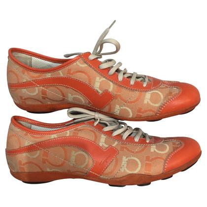 Salvatore Ferragamo Sneakers in orange