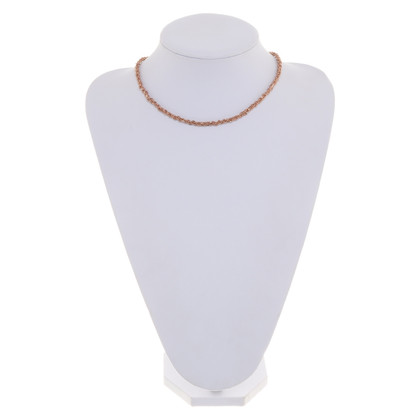 Bliss Necklace in pink gold colors