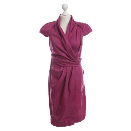Diane von Furstenberg Wrap dress in Fuchsia