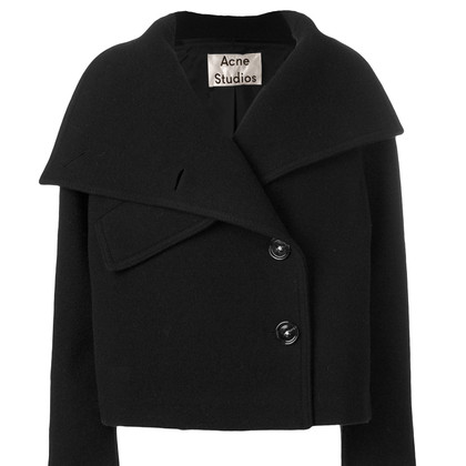 Acne Chessa Bollito in nero