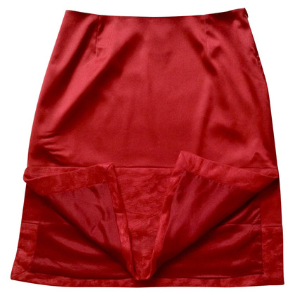 Versace VERSACE Jeans Couture Skirt Red Skirt