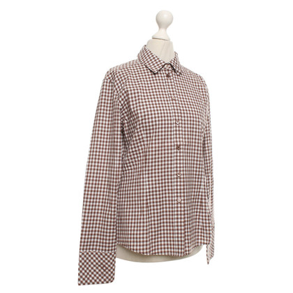 Escada Shirt blouse with vichy pattern