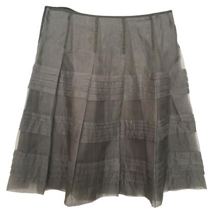 Andere merken P.A.R.O.S.H - geplooide rok van zijde