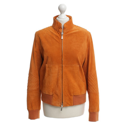 Steffen Schraut Lederjacke in Orange