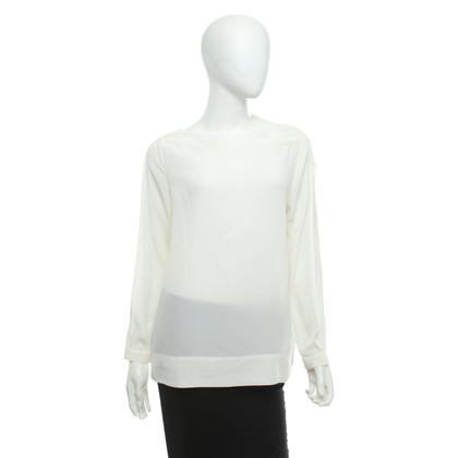 Michalsky Silk blouse in cream