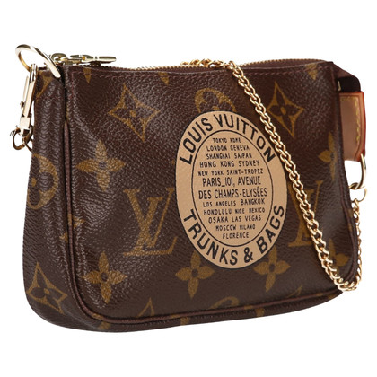 "Louis Vuitton ""Mini Pochette Accessories Monogram Canvas"""