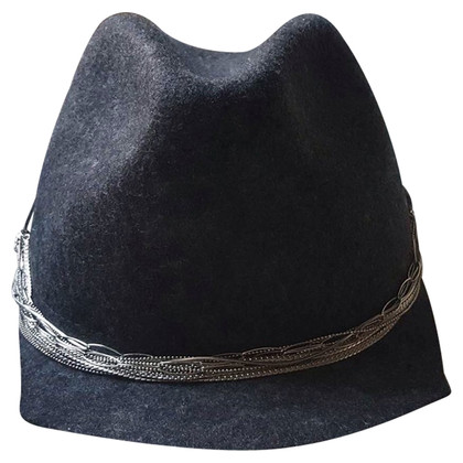 Brunello Cucinelli Grey wool hat