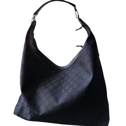 Gucci Hobo Bag met Guccissima patronen