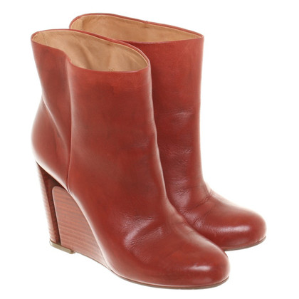 Maison Martin Margiela Ankle boots in red