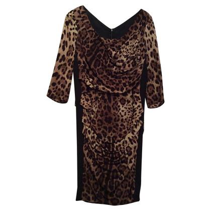 Dolce & Gabbana leopard dress