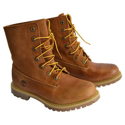 Timberland Leather boats in brown