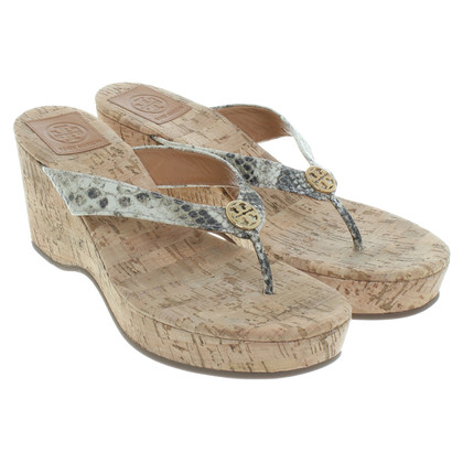 Tory Burch Sandals in the reptile look