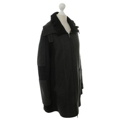 Marc Cain Grey wool coat
